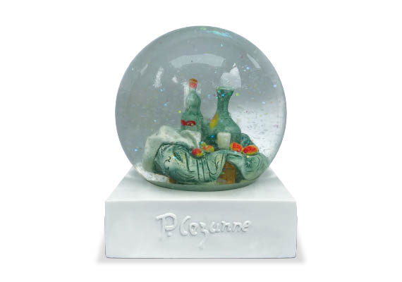 Glass customized snow globe