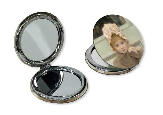 Microfiber pocket mirrors