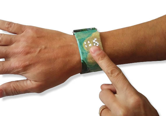 Paper Touch Watch Customizable