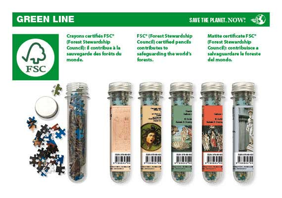 Puzzle eco customizable tube