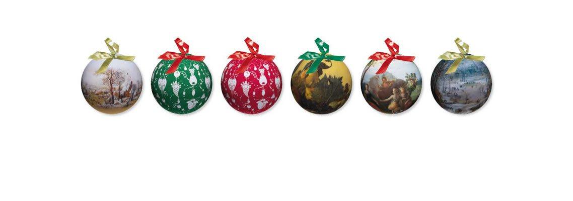 Palline di Natale personalizzate decoupage